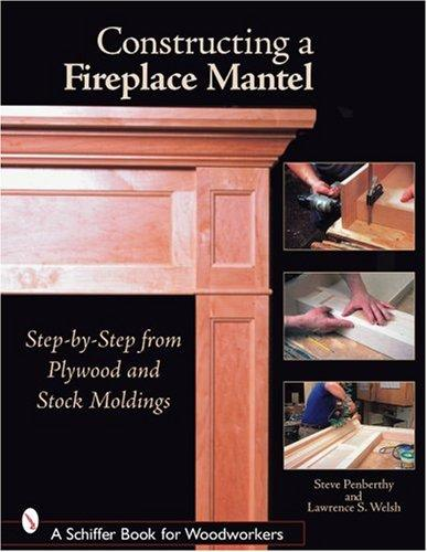 Image 0 of Constructing a Fireplace Mantel: Step-By-Step from Plywood and Stock Moldings (S
