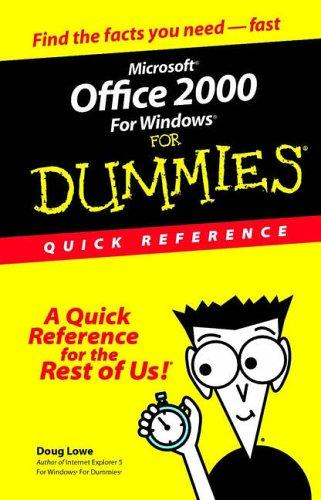 Microsoft Office 2000 for Windows for dummies by Doug Lowe
