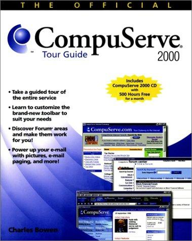 The Official Compuserve 2000 Tour Guide by Charlie Bowen