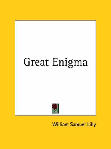 Great Enigma