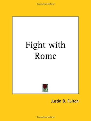Fight with Rome