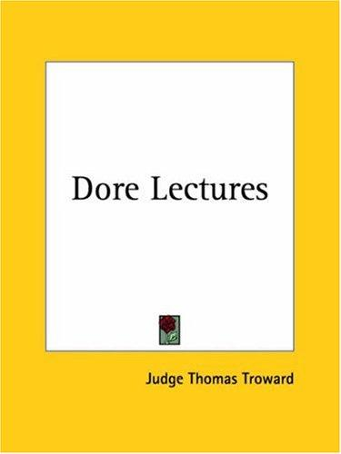 Dore Lectures by Judge Thomas Troward