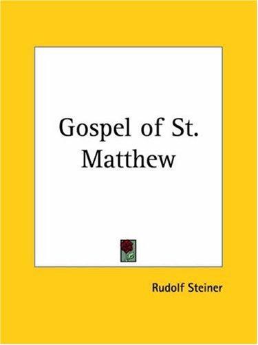 Gospel of St. Matthew