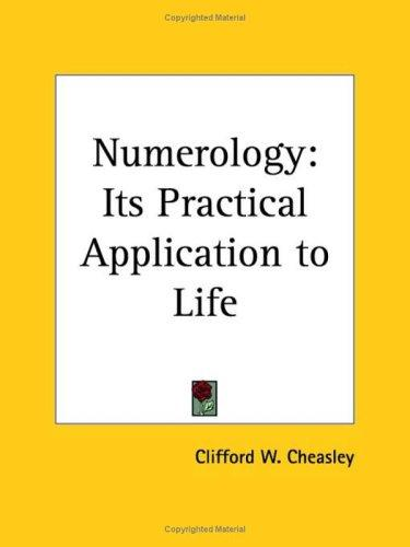 Numerology by Clifford W. Cheasley