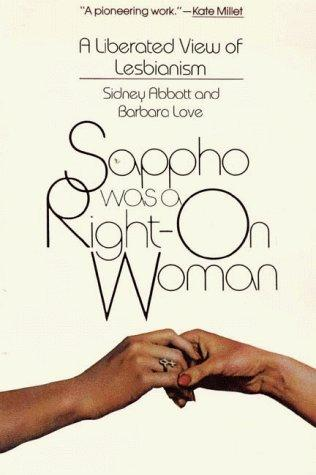 Sappho was a right-on woman by Sidney Abbott