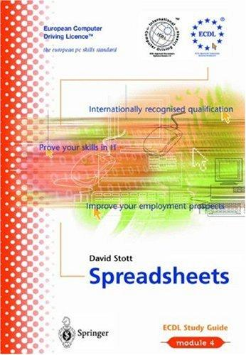 Spreadsheets by David Stott
