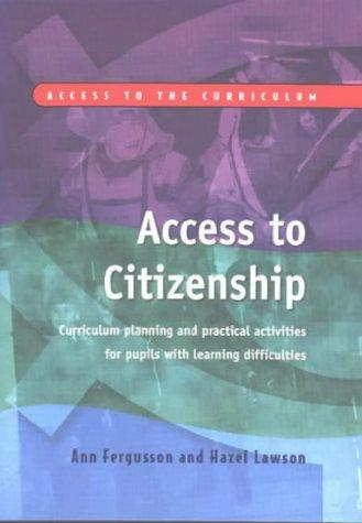 Access to Citizenship by Ann Fergusson