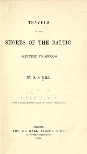 Travels on the shores of the Baltic.