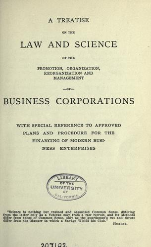 Commentary on the science of organization and business development