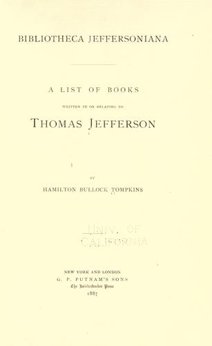 Bibliotheca Jeffersoniana