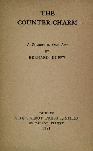 The counter-charm by Bernard Duffy