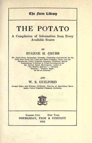 The potato by Eugene H. Grubb