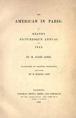 The American in Paris.