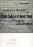 Natural Casings for Human Consumption (SCARM Report) by Standing Committee on Agriculture and Resource Management